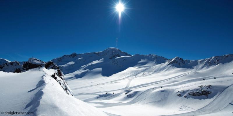 De Kaunertal Gletscher