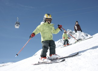 Wintersport in familieskigebied Vaujany