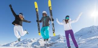 wintersport tijdens de paasvakantie