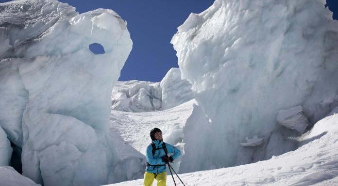 Gletsjer in Chamonix