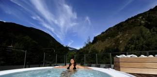 genieten van wellness in Brides-les-Bains