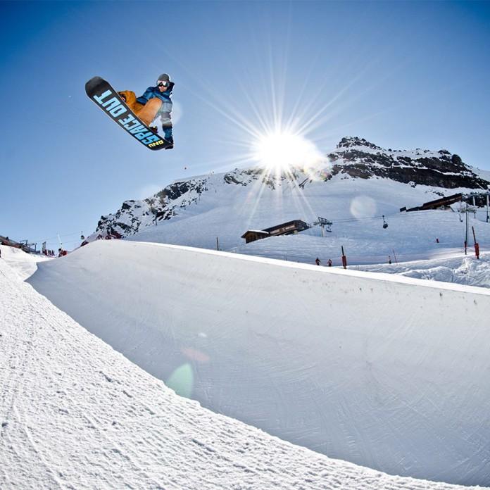 types snowboard, flex van een snowboard