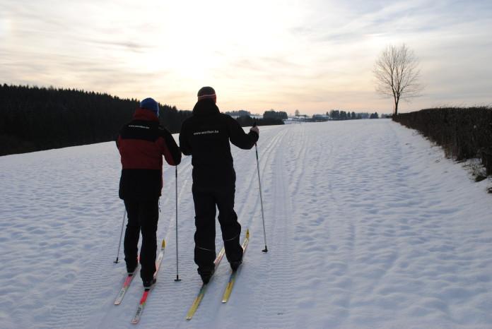 Skiën in de Ardennen