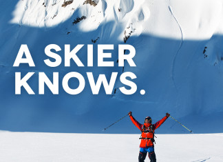A skier knows