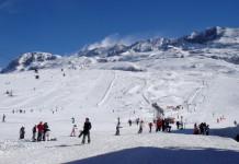 officiële opening van skigebied Alpe d'Huez