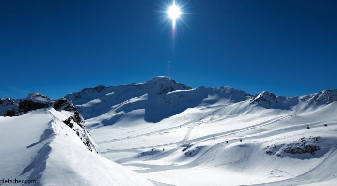 Gletsjerskigebieden in Oostenrijk