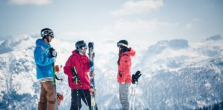 op wintersport tijdens de krokusvakantie