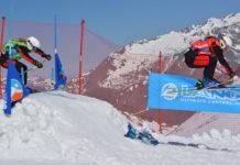 Julie De Leeuw wint BK Skicross