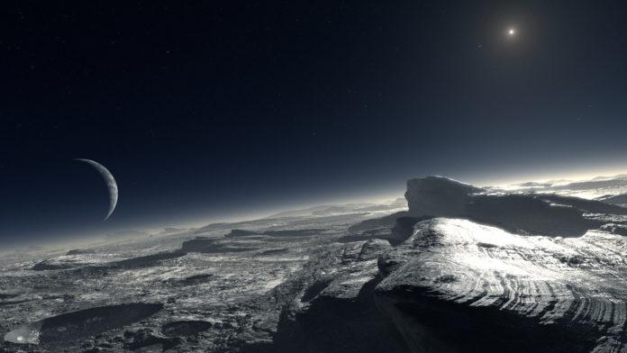 Sneeuw in de ruimte