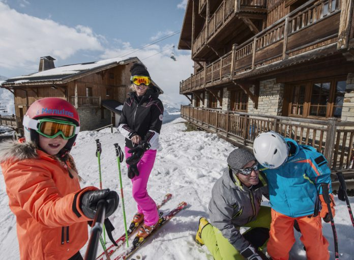 Kindvriendelijk skigebied Les Menuires