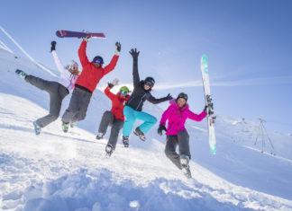Evenementen op grote hoogte, skiën in de carnavalsvakantie