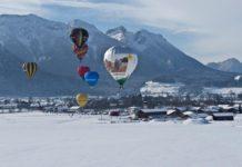 Ballonvlucht (c) DZT - Inzell in den bayrischen Alpen - www.inzell.de