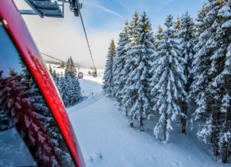 de meest extreme skiliften