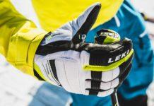 Veilige skistokken met Leki Trigger S handschoenen (c) Christophe Schoech