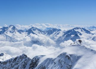 skiën in Alpe d'Huez en Pic Blanc