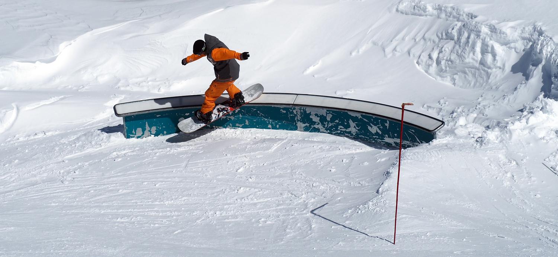 Snowpark (c) OT Les 2 Alpes