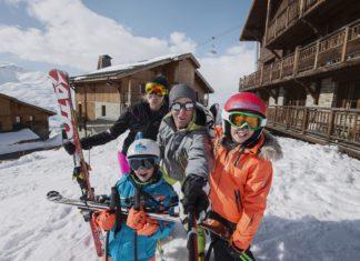 Skiën met kleine kinderen