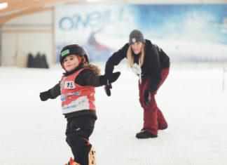 snowboarden voor de allerkleinsten