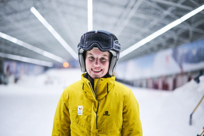 Noa Spoelders neemt deel aan de Youth Winter Olympic Games in Lausanne