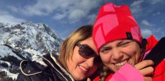 alpine skiester Julie de Leeuw